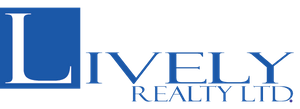 Lively Realty LTD logo in blue